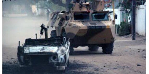 Frankreich bereit für Militärschlag im Tschad