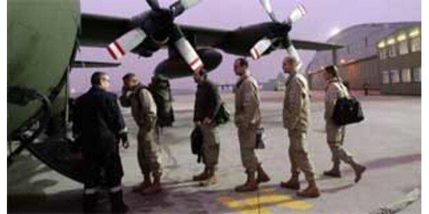 Erste Soldaten in den Tschad abgeflogen