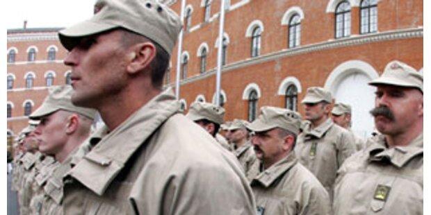 155 Soldaten in den Tschad aufgebrochen