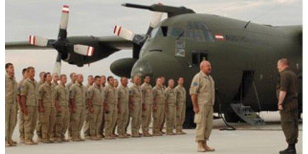 26 Tschad-Soldaten nach Österreich zurückgekehrt
