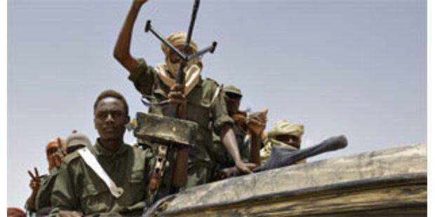 Großangriff der Rebellen im Tschad
