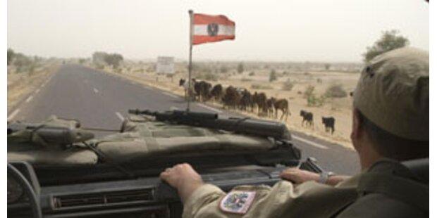 Österreichische Soldaten im Tschad beschossen