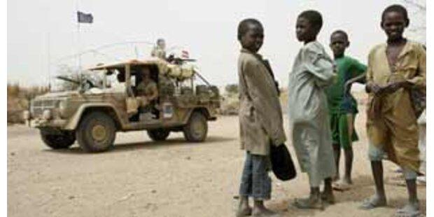 Flüchtlingshelfer im Tschad