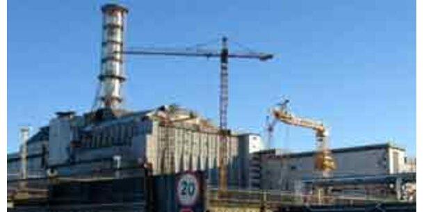 Tschernobyl-Reaktor erhält neue Schutzhülle