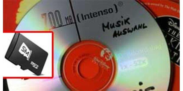 Good bye, gute alte CD