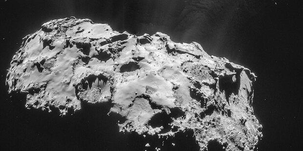 Rosetta zeigt Tschuri aus nächster Nähe