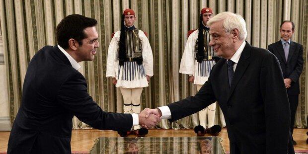 Neue griechische Regierung steht schon