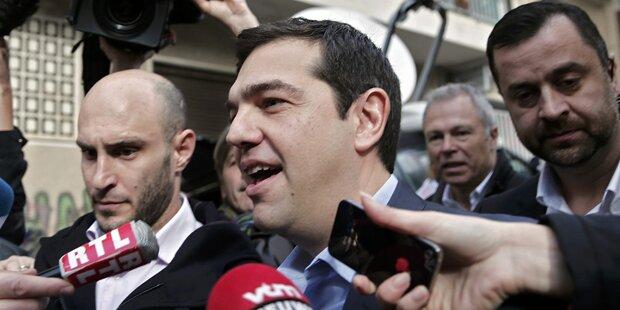 Tsipras auf Brüssel-Tour