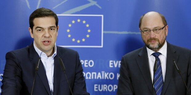 Schulz: Griechenland hat keine Wahl