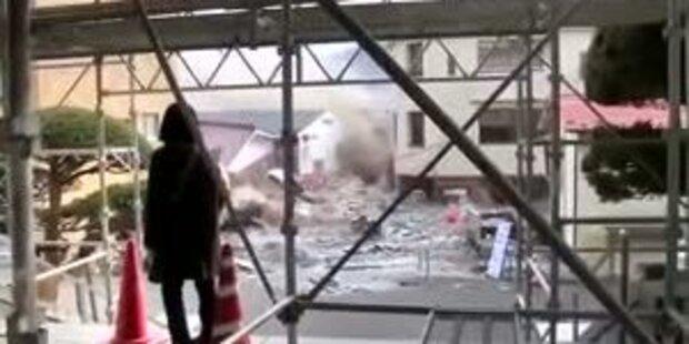 Neues Video: Tsunami verwüstet Küstenstadt