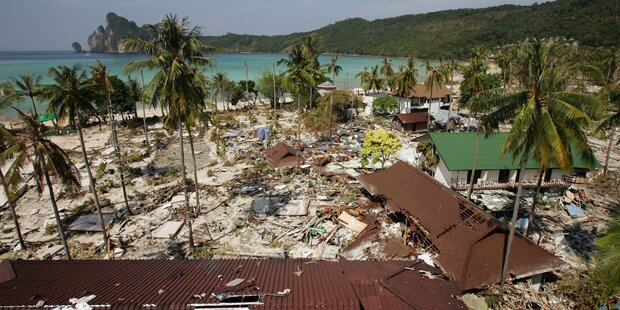 Gedenkfeiern an Tsunami-Opfer
