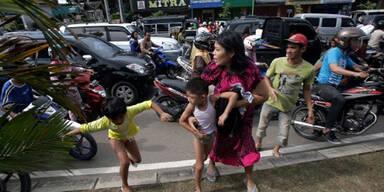 Erdbeben der Stärke 8,6 vor Sumatra