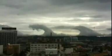 Tsunamiwolken über Alabama gesichtet