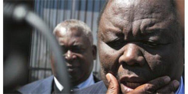 Tsvangirai flüchtet in niederländische Botschaft