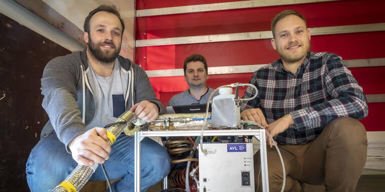 TU-Graz-Erfindung soll Autos sauberer machen