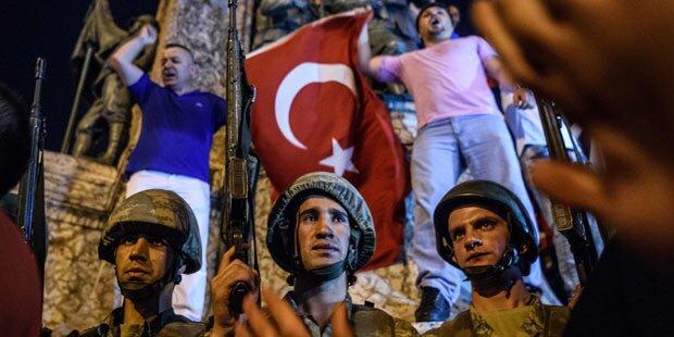 265 Tote bei Putschversuch in der Türkei