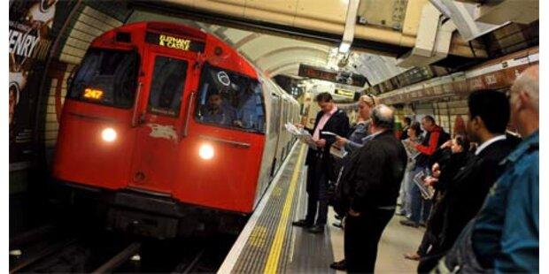 Baby in Londoner U-Bahn geboren