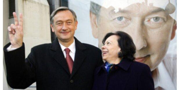 Danilo Türk ist Sloweniens neuer Präsident