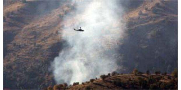 Türkei bombardiert kurdische Stellungen