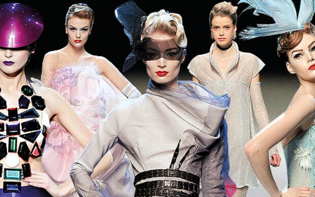 Highlights der 'Haute Couture'-Schauen