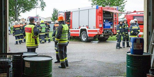 Chemieunfall in Niederösterreich