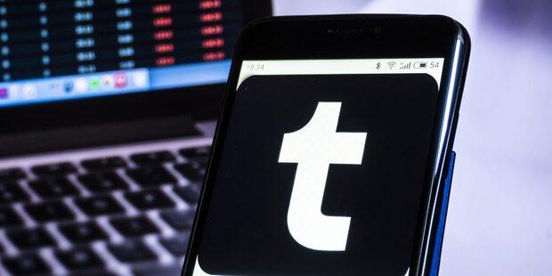 Tumblr wird verkauft; Porno-Verbot beibt