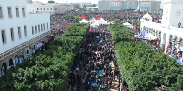 Wieder gewaltätige Proteste in Tunesien