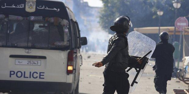 Neue Gewalt bei Demonstrationen