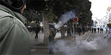 Unruhe in Tunesien