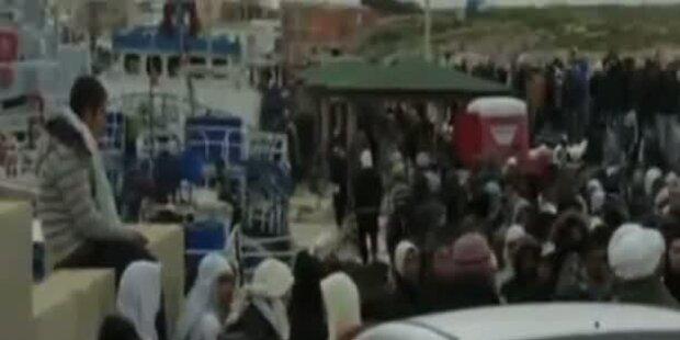 Flüchtlingsstrom aus Tunesien