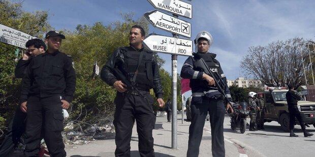 Tunis: Neun Verdächtige festgenommen