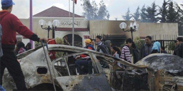 Erneut Massenproteste gegen Ben Ali