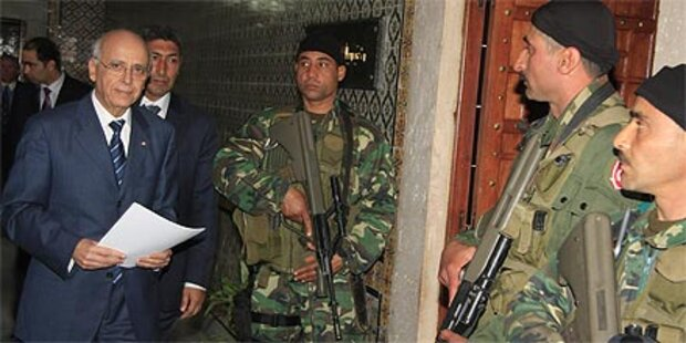Regierungschef Ghannouchi tritt zurück