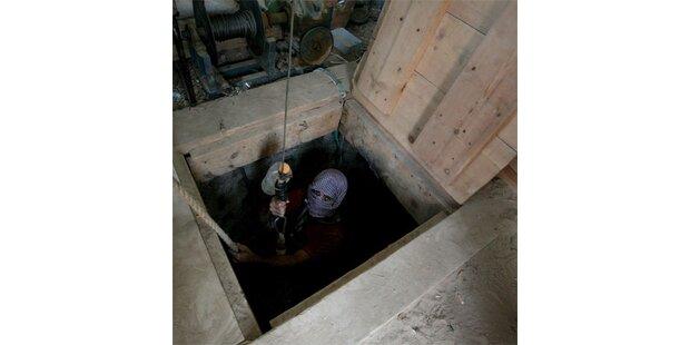 Vier Tote bei Einsturz von Schmuggel-Tunnel