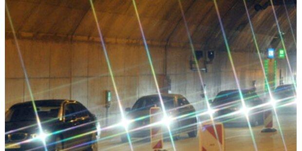 Hydranten im Roppener Tunnel unbrauchbar