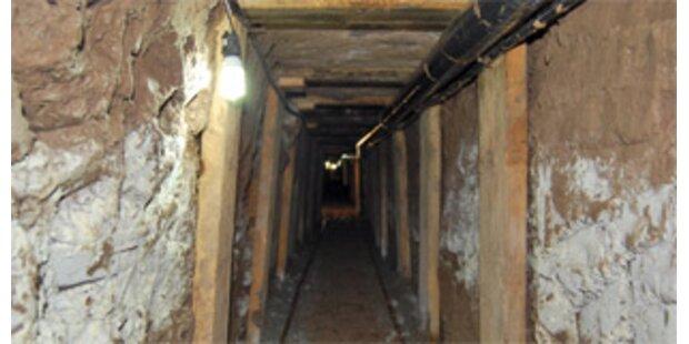 Mexikos Drogenbarone bauen klimatisierte Tunnel