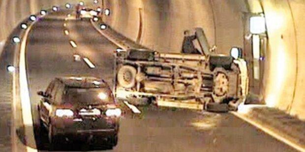 Tunnel-Crash: Schuld war Kontaktlinse