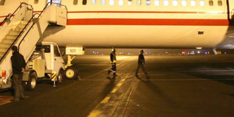 Schrott-Tupolew löst Panik aus