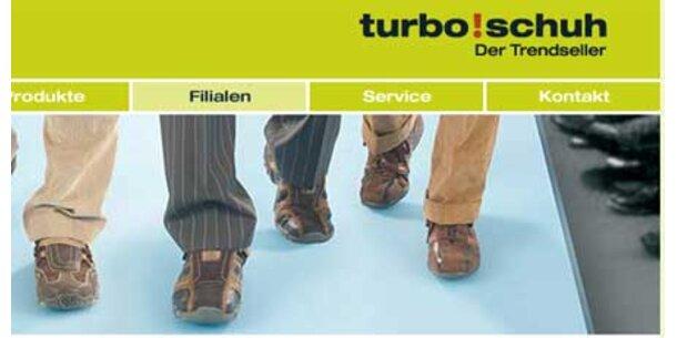 Turbo Schuh schließt seine Türen