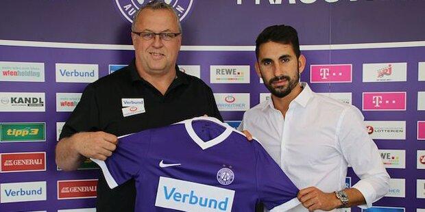 Austria verpflichtet isrealischen Teamstürmer