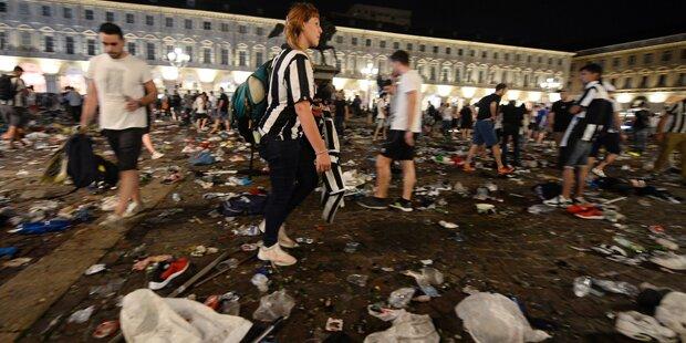 Turiner Massenpanik forderte Todesopfer