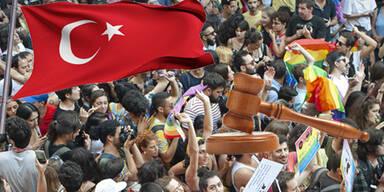 Teilnahme an Gay Pride Parade – Türkische Studenten vor Gericht