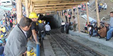 Bergwerks-Drama: 18 Kumpel verschüttet
