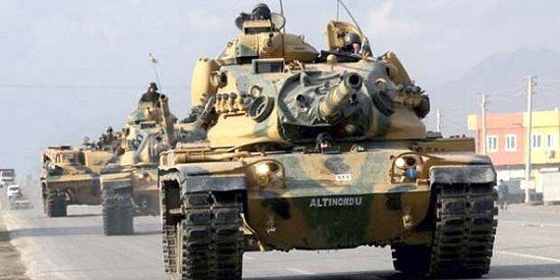 Türkei droht mit Krieg