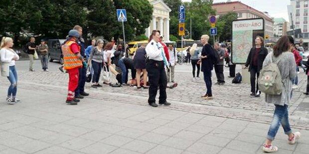 Messer-Attacke in Finnland: Täter rief