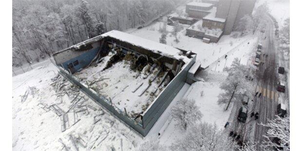 Turnhallendach in St. Gallen eingestürzt