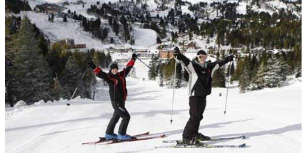 Erste Skigebiete sind eröffnet