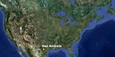 Schildkröte mit 2 Köpfen in Zoo in Texas