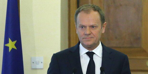 Tusk: Herzlichste Glückwünsche an VdB