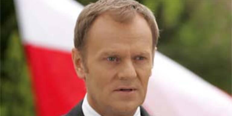 Raketen gegen Geld: Polen-Premier Donald Tusk
